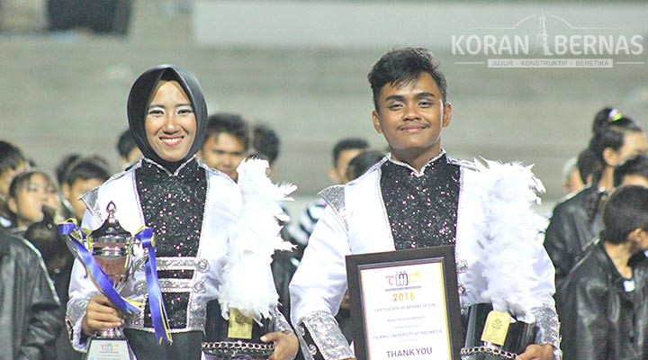 Marching Band UII Juara di Thailand